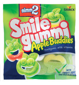 Bonboni Nimm2, Apple buddies, gumi., 90g