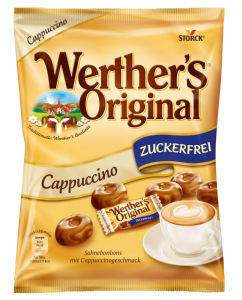 Bonboni Warther's, original, Cappuccino, 70g