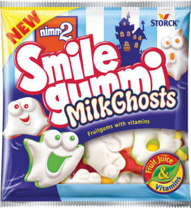 Bobboni Nimm2, Milk ghosts, gumi., 90g