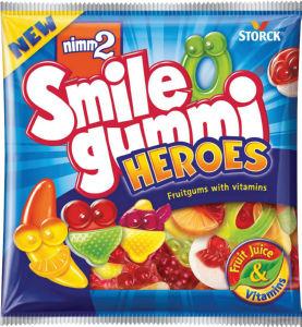 Bonboni Nimm2, Heroes, gumi., 90g