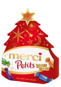 Bonbonjera Merci Pettis Xmas Tree, 150 g