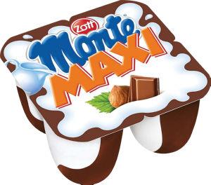 Desert Monte Maxi, čokolada, 4 x 100 g