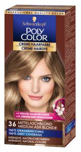 Barva za lase Poly Color, 36, srednje blond