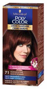 Barva za lase Poly Color, 71, mahagoni
