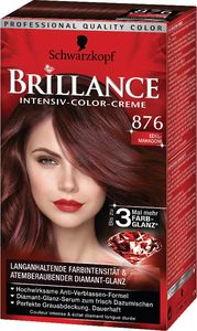 Barva za lase Brillance, 876, žlahten mahag.