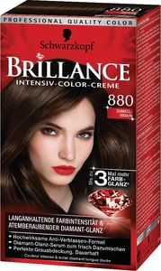 Barva za lase Brillance, 880, temno rjava