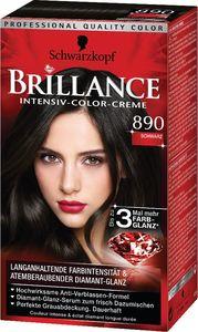 Barva za lase Schwarzkopf, Brillance 890, črna