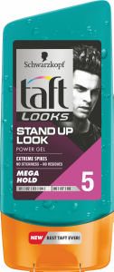 Gel za lase Taft Looks, stand up look, 150ml