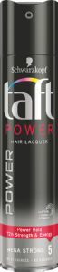 Lak za lase Taft, power, 250ml