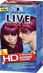Barva za lase Live, XXL 86