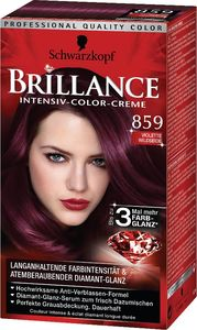 Barva za lase Brillance, 859, svilnato vijol.