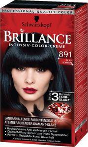 Barva Brillance, 891, modro črna