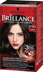 Barva za lase Brillance, 890, črna