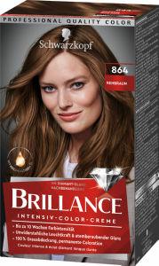 Barva Brillance, 864 srednje rjava