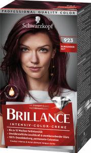 Barva Brillance, burgundsko rdeča 923