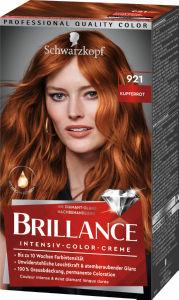 Barva Brillance, bakreno rdeča 921