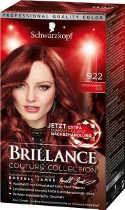 Barva Brillance, 922 kostanjevo rdeča