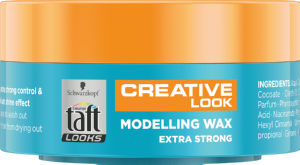 Vosek za lase Taft Looks, ex.strong, 75ml