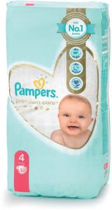 Plenice Pampers, Premium c., maxi 5, 52/1