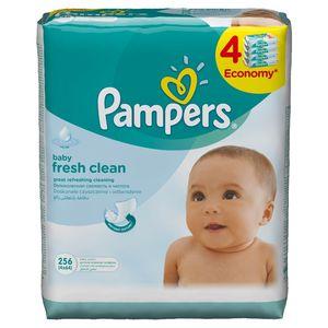 Robčki Pampers, Baby, 4×64/1