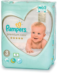 Plenice Pampers, Premium c., midi, 80/1