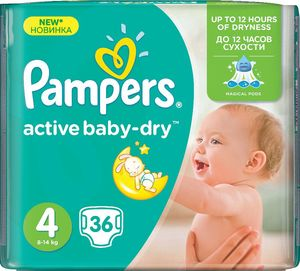 Pampers Midpack, maxi, 36/1