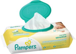 Robčki Pampers, New baby, sensitive, 54/1