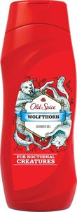 Tuš gel Old Spice, moški, wolfthorn, 250ml