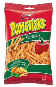 Čips Pomsticks, s papriko, 100g