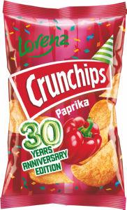 Čips Crunchips Mega paprika, 150g
