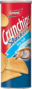 Čips Crunchips, stackers, morska sol, 175g