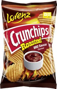 Čips Crunchips, BBQ-žar, 140 g