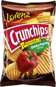 Čips Crunchips, Roasted, paprika, 140 g