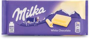 Čokolada Milka, bela, 100 g