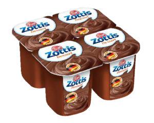 Puding Zottis, čokolada, 4x115g