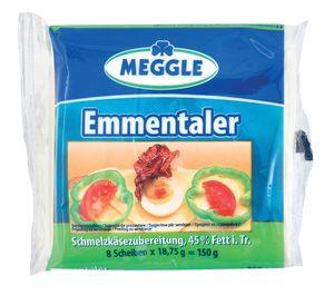 Sir Ementaler Meggle, lističi, 150g