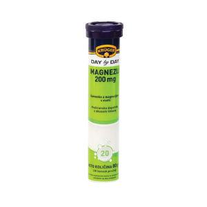 Tablete Kruger, šumeče, magnezij