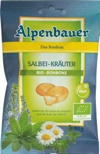Bonboni Bio Alpenbauer, žajbelj, 90g