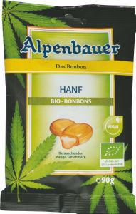 Bonboni Bio Alpenbauer, konoplja, 90g