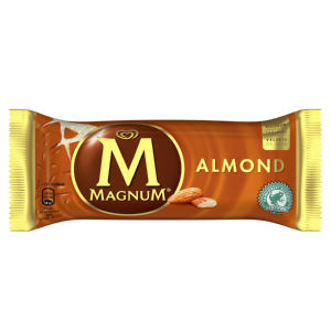 Sladoled Magnum, mandelj, 120 ml