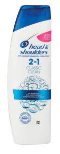 Šampon H&S, Čisti in neg.lasje, 2v1, 225ml