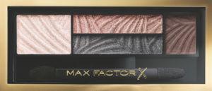Senčila za oči Max Factor paleta, Smokey eye 02 Lavish onyx