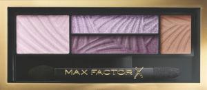 Senčila za oči Max Factor paleta, Smokey eye 04 Luxe lilacs