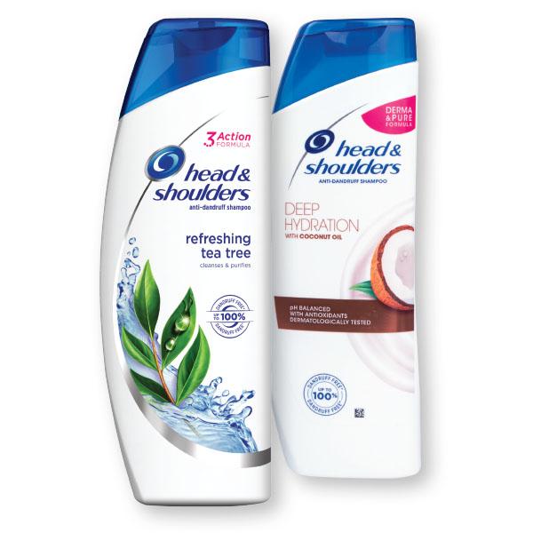 Šampon H&S, Nourishing, lavanda, 400ml