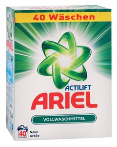 Ariel regular, 40pranj, 2,6kg