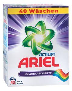Ariel color, prah, 40pranj, 2,6kg