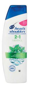 Šampon H&S, mentol, 2v1, 225ml
