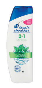 Šampon H&S, mentol, 2v1, 360ml