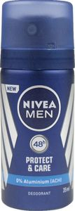 Dezodorant Nivea, mini, Protect, men, 35ml
