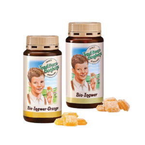 Bonbon Bio, ingver, pomaranča, 170g